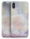 Purple 97 Absorbed Watercolor Texture - iPhone X Skin-Kit