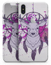 Purple Deer Runner DreamCatcher - iPhone X Skin-Kit