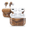 Raw Wood Planks V11 - Full Body Skin Decal Wrap Kit for the Wireless Bluetooth Apple Airpods Pro, AirPods Gen 1 or Gen 2 with Wireless Charging