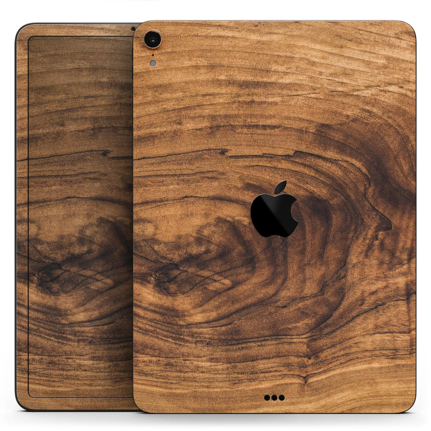 """Raw Wood Planks V11 - Full Body Skin Decal for the Apple iPad Pro 12.9"""", 11"""", 10.5"""", 9.7"""", Air or Mini (All Models Available)"""