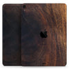 "Raw Wood Planks V13 - Full Body Skin Decal for the Apple iPad Pro 12.9"", 11"", 10.5"", 9.7"", Air or Mini (All Models Available)"