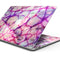 "Red White Dragon Vein Agate Skin - Skin Decal Wrap Kit Compatible with the Apple MacBook Pro, Pro with Touch Bar or Air (11"", 12"", 13"", 15"" & 16"" - All Versions Available)"