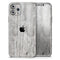 Rough White Wood - Skin-Kit for the Apple iPhone 11, 11 Pro or 11 Pro Max