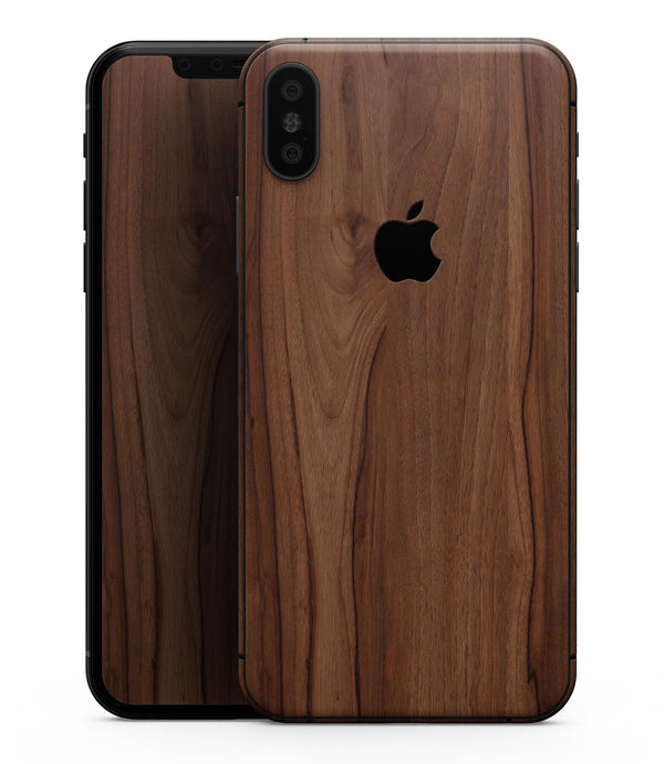 Smooth-Grained Wooden Plank - iPhone XS MAX, XS/X, 8/8+, 7/7+, 5/5S/SE Skin-Kit (All iPhones Avaiable)