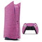 Sparkling Pink Ultra Metallic Glitter - Full Body Skin Decal Wrap Kit for Sony Playstation 5, Playstation 4, Playstation 3, & Controllers