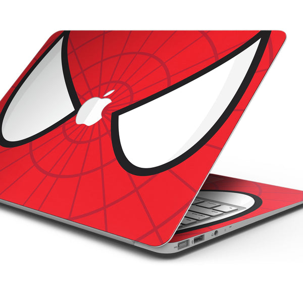 "Spider Super Hero Wars - Skin Decal Wrap Kit Compatible with the Apple MacBook Pro, Pro with Touch Bar or Air (11"", 12"", 13"", 15"" & 16"" - All Versions Available)"