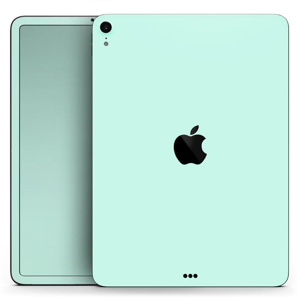 "Subtle Solid Green - Full Body Skin Decal for the Apple iPad Pro 12.9"", 11"", 10.5"", 9.7"", Air or Mini (All Models Available)"
