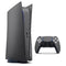 Textured Black Carbon Fiber - Full Body Skin Decal Wrap Kit for Sony Playstation 5, Playstation 4, Playstation 3, & Controllers