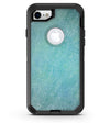 Textured Teal Surface - iPhone 7 or 8 OtterBox Case & Skin Kits