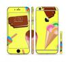 The 3d Icecream Treat Collage Sectioned Skin Series for the Apple iPhone 6/6s