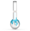 The Abstract Blue Skyline View Skin Set for the Beats by Dre Solo 2 Wireless Headphones