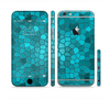 The Abstract Blue Tiled Sectioned Skin Series for the Apple iPhone 6/6s