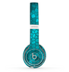 The Abstract Blue Tiled Skin Set for the Beats by Dre Solo 2 Wireless Headphones