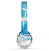 The Abstract Blue & White Future City View Skin Set for the Beats by Dre Solo 2 Wireless Headphones