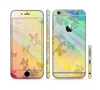 The Abstract Color Butterfly Shadows Sectioned Skin Series for the Apple iPhone 6/6s
