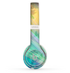 The Abstract Color Butterfly Shadows Skin Set for the Beats by Dre Solo 2 Wireless Headphones