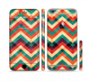 The Abstract Colorful Chevron Sectioned Skin Series for the Apple iPhone 6/6s