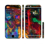 The Abstract Colorful Painted Surface Sectioned Skin Series for the Apple iPhone 6/6s