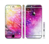 The Abstract Neon Paint Explosion Sectioned Skin Series for the Apple iPhone 6/6s