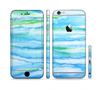 The Abstract Oil Painting Lines Sectioned Skin Series for the Apple iPhone 6/6s