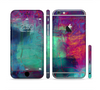 The Abstract Oil Painting V3 Sectioned Skin Series for the Apple iPhone 6/6s
