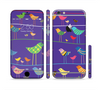 The Abstract Pattern-Filled Birds Sectioned Skin Series for the Apple iPhone 6/6s