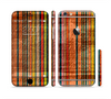 The Abstract Retro Stripes Sectioned Skin Series for the Apple iPhone 6/6s Plus