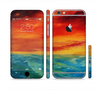The Abstract Sunset Painting Sectioned Skin Series for the Apple iPhone 6/6s