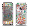 The Abstract Woven Color Pattern Apple iPhone 5-5s LifeProof Fre Case Skin Set