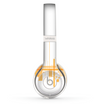 The Abstract Yellow Skyline View Skin Set for the Beats by Dre Solo 2 Wireless Headphones