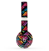 The Abstract Zig Zag Color Pattern Skin Set for the Beats by Dre Solo 2 Wireless Headphones