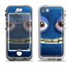 The Angry Blue Fury Monster Apple iPhone 5-5s LifeProof Nuud Case Skin Set