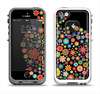 The Apple Icon Floral Collage Apple iPhone 5-5s LifeProof Fre Case Skin Set
