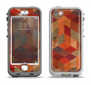 The Autumn Colored Geometric Pattern Apple iPhone 5-5s LifeProof Nuud Case Skin Set