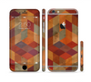 The Autumn Colored Geometric Pattern Sectioned Skin Series for the Apple iPhone 6/6s Plus