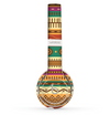 The Aztec Tribal Vintage Tan and Gold Pattern V6 Skin Set for the Beats by Dre Solo 2 Wireless Headphones