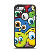 The Big-Eyed Highlighted Cartoon Birds Apple iPhone 5-5s Otterbox Defender Case Skin Set