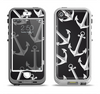 The Black Anchor Collage Apple iPhone 5-5s LifeProof Nuud Case Skin Set