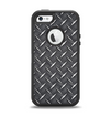 The Black Diamond-Plate Apple iPhone 5-5s Otterbox Defender Case Skin Set