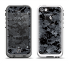 The Black Digital Camouflage Apple iPhone 5-5s LifeProof Fre Case Skin Set
