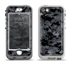 The Black Digital Camouflage Apple iPhone 5-5s LifeProof Nuud Case Skin Set