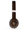 The Black Grained Walnut Wood Skin Set for the Beats by Dre Solo 2 Wireless Headphones