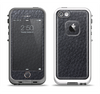 The Black Leather Apple iPhone 5-5s LifeProof Fre Case Skin Set
