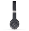The Black Leather Skin Set for the Beats by Dre Solo 2 Wireless Headphones