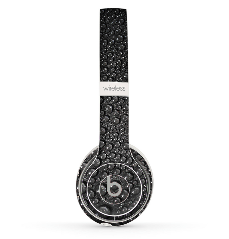 The Black Rain Drops Skin Set for the Beats by Dre Solo 2 Wireless Headphones