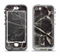 The Black Torn Woven Texture Apple iPhone 5-5s LifeProof Nuud Case Skin Set