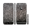 The Black Unfocused Sparkle Sectioned Skin Series for the Apple iPhone 6/6s