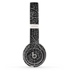 The Black & White Floral Lace Skin Set for the Beats by Dre Solo 2 Wireless Headphones