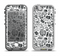 The Black & White Technology Icon Apple iPhone 5-5s LifeProof Nuud Case Skin Set