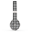 The Black and White Houndstooth Pattern Skin Set for the Beats by Dre Solo 2 Wireless Headphones
